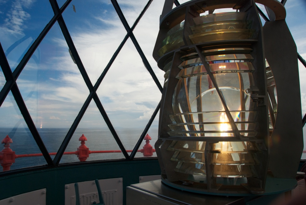 Fanad Lighthouse lights up!!
