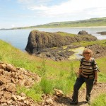 Gudrun on the Causeway Coast