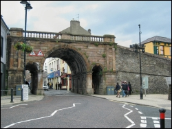 Shipquay Gate, Derry City