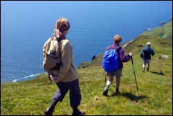 Walking Slieve League