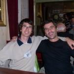 Jordi and Stefano in Cushendun