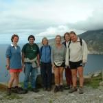 Diarmaid and group at Bunglas