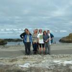 Group at White Park Bay